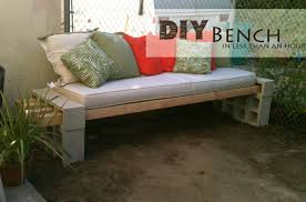 Basic Wood Bench Plans by Easy Diy Patio Furniture Projects You Should Already Start Planning