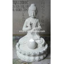 white buddha statue water fountain for indoor home decor buy
