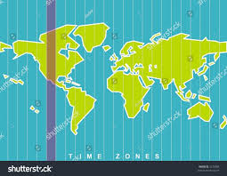 World Time Zones Map by World Map Time Zones Vector Select Stock Vector 5218405 Shutterstock