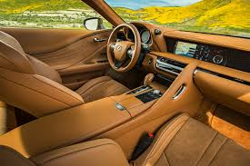 lexus lc carwow lexus lc and 500h first test review interior overview msrp 2018