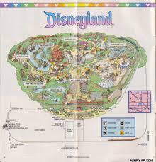 Printable Map Of Disney World Angry Ap Disneyland And Walt Disney World Nostalgia Disneyland