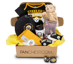 pittsburgh steelers baby box steelers baby gear fanchest