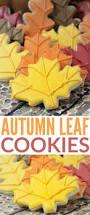 best 25 leaf cookies ideas on pinterest halloween sugar cookies