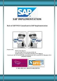 Sap Implementation   LinkedIn SAP Implementation   Role of SAP FICO Consultant