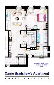 Escala Seattle Floor Plans by Carrie Bradshaw Apt And The City Movies This Is A House