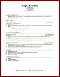 Best Resume Format For College Students by Resume Examples With No Work Experience Cover Letter College