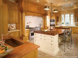 Fancy Kitchen Cabinets by Kitchen Design Ideas With Brown Kitchen Cabinet Chandelier Also