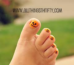 halloween nail designs all things girlie all things thrifty