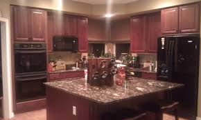 dark hardwood cabinets sharp home design