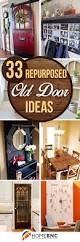 Recycle Home Decor Ideas Best 25 Old Door Decor Ideas On Pinterest Door Picture Frame