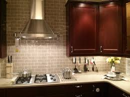 Kitchen Glass Backsplash Ideas Kitchen Glass Backsplash Cherry Cabinets Eiforces