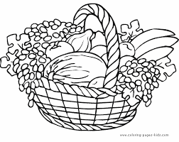 thanksgiving color free printable coloring sheets kids