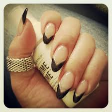 black tip pointy nails yelp