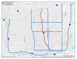Oklahoma City Map Oklahoma City Officials Urge Drivers To Use Detours During Next