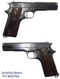 star firearms b series pistols