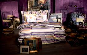 Purple Bedroom Furniture by Awesome Colorful Living Room Decoration Using Bohemian Bedroom