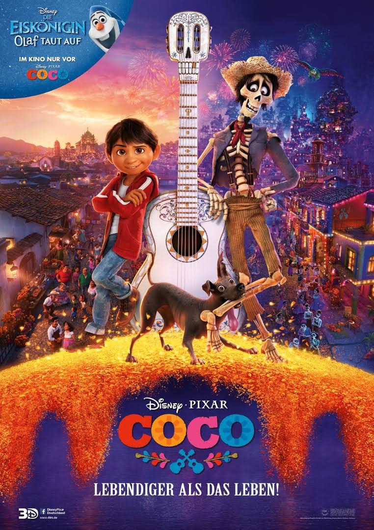 Kinostart Coco - lebendiger als das Leben @ Kino