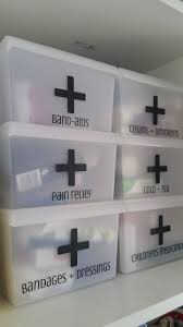 ideas about Medicine Organization on Pinterest   Organize     Pinterest First Aid Organization Boxes  I need to do this in our closet  It would