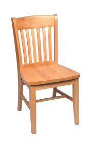 solid wood dining chair schoolhouse solid wood dining chair
