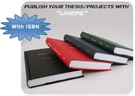 International Journal of Humanities  Engineering and     Are you about to complete your PhD thesis projects and are you thinking about publishing your thesis project as an online book  With our PhD publishing