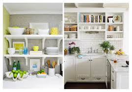 Shelf Kitchen Cabinet Open Shelf Kitchen Cabinets The Benefits You Can Get From Open