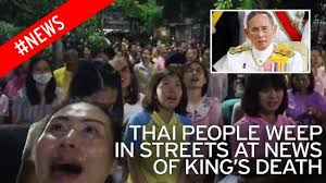 Little boy sobs uncontrollably when he hears the King of Thailand     Video Loading