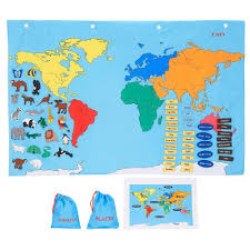 Kids World Map Amazon Com Fao Schwarz Big World Map Toys U0026 Games