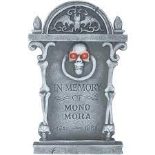 tombstones halloween tombstones a set of four halloween party