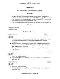 Curriculum Vitae Sample In Thesis