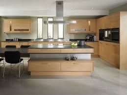 kitchen style contemporary kitchen design ideas beige solid wood contemporary kitchen design ideas beige solid wood kitchen cabinet grey metal chrome island range hood grey marble flooring