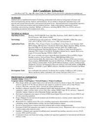 network engineer resume  software engineer resume example