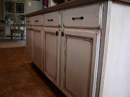 Antiqued Kitchen Cabinets by Diy Distressed Kitchen Cabinets Best Home Decor