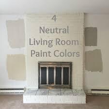 drew danielle design 4 neutral living room paint colors