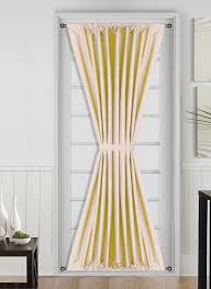 simple french door window treatments for a unique home swift
