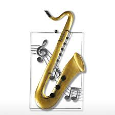 Music Home Decor by Best And Cheap Yellow Tooarts Saxophone Hanging Ornament Home