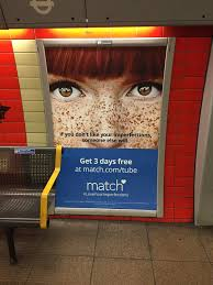 Match com ad criticised for suggesting red hair and freckles     Emily Forbes   eemilyjf