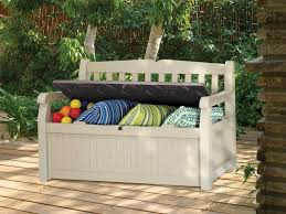 contemporary outdoor storage benches diy outdoor storage benches