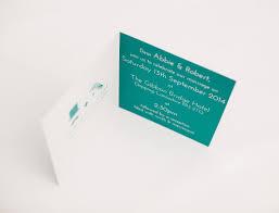 folded invitation north wedding stationery think good get hitched
