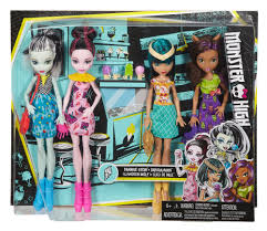 monster ice scream ghouls doll 4 pack walmart