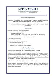 Phlebotomist Resume Sample No Experience by Resume For First Job Examples Simple Resume Examples For Jobs