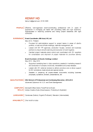 sample of special skills in resume sample event planner resume free resume example and writing download event coordinator cv