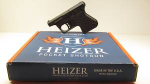 heizer defense ps1 pocket shotgun pistol u2013 new gun review