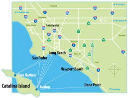 Newport Oregon Map by Where Is Catalina Island Catalina Island