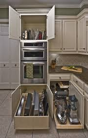 Narrow Kitchen Storage Cabinet by Kitchen Storage Cabinet In White Made Of Wood With Pull Out