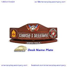 Custom Desk Name Plates by 23 Best Desk Name Plates Insignia Plaques Shadow Boxes Tail