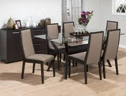 Elegant Dining Room Furniture by Dining Room Awesome Glass Table Set For An Elegant Dining Room