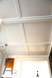 ceiling enchanting beadboard ceiling with white color design and