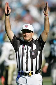 Just not cricket: NFL ref Peter Morelli shows us how it\u0026#39;s done American style. These video review capabilities are something we should look to employ in ... - article-0-02390138000005DC-749_468x705