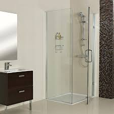 roman luxury shower enclosures and shower doors roman showers decem hinged door with side panel for corner fitting