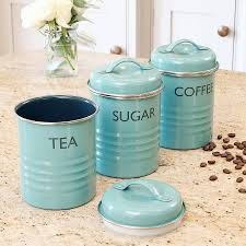 Green Canister Sets Kitchen French Tea Time Box Sugar Canister Tea Coffee Sugar Canisters